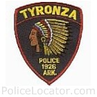 Tyronza Police Department Patch