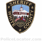 White County Sheriff's Department Patch