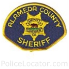 Alameda County Sheriff's Office Patch