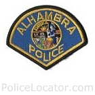 Alhambra Police Department Patch