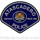 Atascadero Police Department Patch