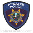 Atwater Police Department Patch