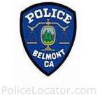 Belmont Police Department Patch