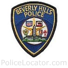 Beverley Hills Police Department Patch