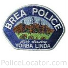 Brea Police Department Patch