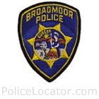 Broadmoor Police Department Patch