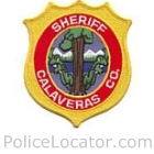 Calaveras County Sheriff's Department Patch