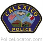 Calexico Police Department Patch