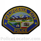 California City Police Department Patch