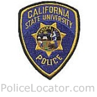 California State University Sacramento Police Department Patch