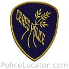 Ceres Police Department Patch