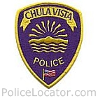 Chula Vista Police Department Patch