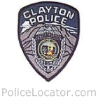 Clayton Police Department Patch