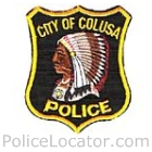 Colusa Police Department Patch