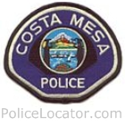 Costa Mesa Police Department Patch
