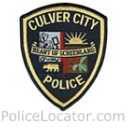 Culver City Police Department Patch