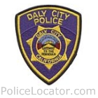 Daly City Police Department Patch