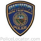Dinuba Police Department Patch