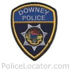 Downey Police Department Patch
