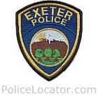 Exeter Police Department Patch