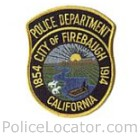Firebaugh Police Department Patch