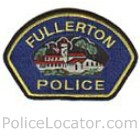 Fullerton Police Department Patch