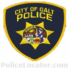 Galt Police Department Patch