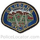 Gardena Police Department Patch