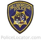 Hillsborough Police Department Patch