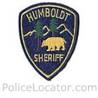 Humboldt County Sheriff's Office Patch