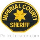 Imperial County Sheriff's Office Patch