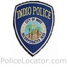 Indio Police Department Patch