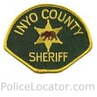 Inyo County Sheriff's Department Patch