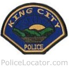 King City Police Department Patch