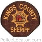 Kings County Sheriff's Department Patch