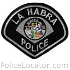 La Habra Police Department Patch