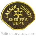 Lassen County Sheriff's Department Patch