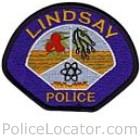 Lindsay Police Department Patch