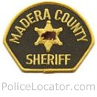 Madera County Sheriff's Department Patch