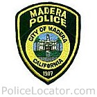 Madera Police Department Patch