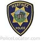 Martinez Police Department Patch