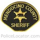 Mendocino County Sheriff's Office Patch