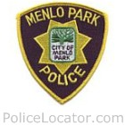 Menlo Park Police Department Patch