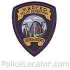 Merced Police Department Patch