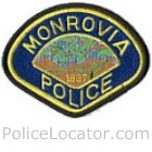 Monrovia Police Department Patch