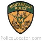Montebello Police Department Patch