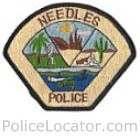 Needles Police Department Patch