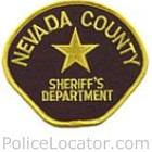 Nevada County Sheriff's Office Patch