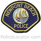 Newport Beach Police Department Patch