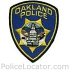 Oakland Police Department Patch